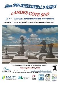 affiche Open Landes 2017
